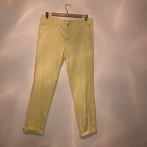 Anthropologie Pilcro and the letter press Chinos